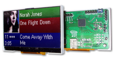 USB LCD Farb Color Display LCD-Hype VDR MCE Display 128x64 Pixel  - LCD-Display Linux4Media